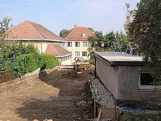Kanalverlegung