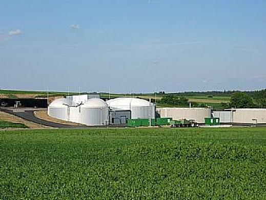 Biogasanlage Japons
